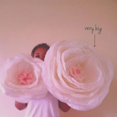 Large tissue paper flowers diy image collections flower decoration making large tissue paper flowers choice image flower decoration ideas how to make large tissue paper mightylinksfo