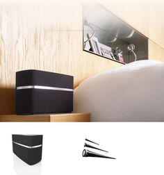 A5 wireless speaker in bedroom