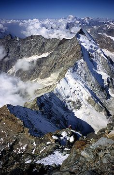 Swiss Alps from Matterhorn