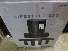 Home Theater Systems: Brnd New Bose Lifestyle 650 Home Entertainment System BUY IT NOW ONLY: $3200.0