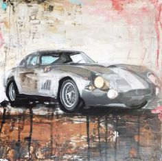 Art Painting mixed Ferrari ctcb 275 media Car Legends Abstract Painting Wall Art Wall Decor Home Decor Decorative Arts Gift Ideas