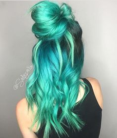 COLORED HAIR BLOG