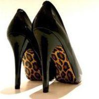 Animal Print High Heels