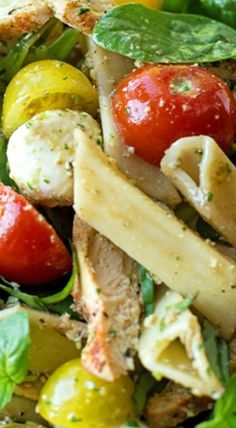 ... and Salads on Pinterest | Vinaigrette, Corn Chowder and Spinach Salads