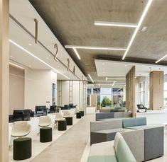 Commercial Design, Commercial Interiors, Bank Interior Design, Auditorium Design, Banks Office, Public Space Design, Office Lobby, Office Lounge, Multipurpose Room