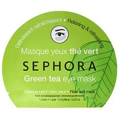 Green Tea Eye Mask: Relaxes, refreshes, and provides a smoothing effect for a fresh, wide awake look - $5