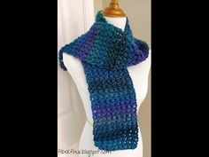 Episode 5: How to Crochet the Tweedy Puff Stitch Scarf - YouTube