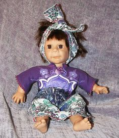 "Upcycled OOAK ""Spirit Friend Doll."" Berenguer Ugly Face with Custom Goddess Clothing by Mandy Wildman. Brings Spiritual Comfort and Joy."