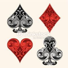 playing cards back pattern - Google Search