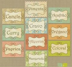Pantry Kitchen Stickers Labels print your by TracyAnnDigitalArt Kitchen Stickers, Kitchen Labels, Pantry Labels, Diy Kitchen, Spice Labels, Kitchen Pantry, Printable Labels, Printable Paper, Free Printables
