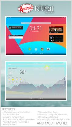 Android KitKat for Rainmeter What is KitKat for Rainmeter? This is a Rainmeter suite designed to look and act like Andro. Android KitKat for Rainmeter