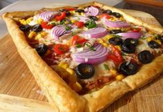 Mexikói pizza-pite   NOSALTY Vegetable Pizza, Quiche, Feta, Bakery, Tacos, Muffin, Mexican, Pie, Sweets