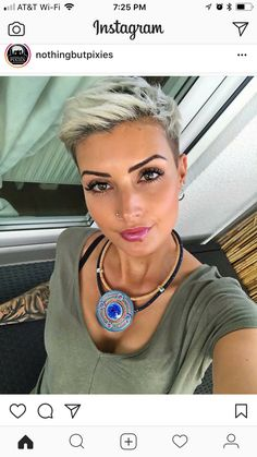 Are you dreaming of trying short pixie hairstyles? 2018 is just the right time for you to try out this hair styling. 25 Trendy Short Pixie Hairstyles To Rock Short Grey Hair, Short Hair Cuts For Women, Short Hair Styles, Modern Short Hair, Fringe Hairstyles, Rock Hairstyles, Really Short Hairstyles, Edgy Pixie Hairstyles, Undercut Hairstyles