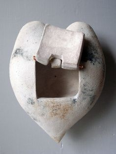 door to the heart white coil built wall piece by ciofaniyogadala