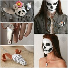Death by Spoon #Brooch, #CopperWire, #Death, #Doily, #Jewelry, #Necklace, #Pendant, #Ring, #Skull, #Spoon  @Annelies Hofmeyr