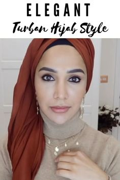 Turban hijab style : See more on - click the link! Hijab Style Dress, Modest Fashion Hijab, Modern Hijab Fashion, Hijab Fashion Inspiration, New Hijab Style, Muslim Fashion, Fall Fashion, Turban Hijab, Mode Turban