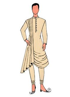 Kurta Pajama- Shop the latest Indian Kurta Pajama. Check out our wide range of Men's Kurta Pyjamas, Wedding Kurta Pyjamas, Designer Kurta Pajamas in Cbazaar with attractive prices and discounts. Kurta Pajama Men, Kurta Men, Fashion Drawing Dresses, Fashion Illustration Dresses, Fashion Illustrations, Fashion Design Drawings, Fashion Sketches, Indian Men Fashion, Men's Fashion