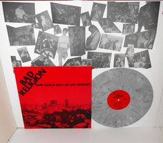 BAD RELIGION how could hell be.. LP Record GREY MARBLED Vinyl with lyrics insert #punkPunkNewWave