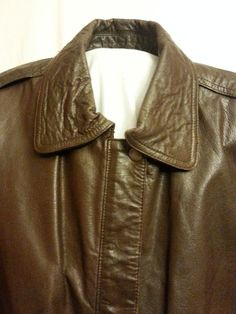 Mens black and brown real world war 2 german military u b https mens leather jacket coat size small tower hill sport brown map lining gumiabroncs Choice Image