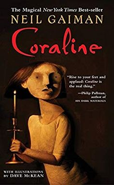 Coraline by Neil Gaiman Paperback) for sale online Scary Stories To Tell, Creepy Stories, Coraline Book, Coraline Jones, Book Quotes Love, Coraline Neil Gaiman, Dave Mckean, His Dark Materials, Library Books