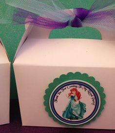 Little Mermaid Favor Tags Princess Ariel by karlaspartycreations, $7.75