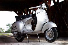 Samantha and 1959 Vespa GS150 #11 Photoshoot by: Creative images by Allison | Flickr - Photo Sharing!