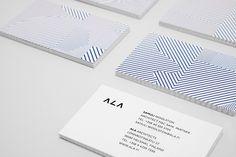 ALA Architects - Business Card Design Inspiration | Card Nerd