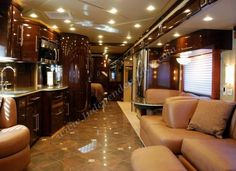 Luxurious Motorhomes Interior | 2010 Newmar King Aire 4566 Luxury Motorhome Interior Front to Back ...