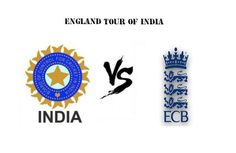 Indian team announced for England Series