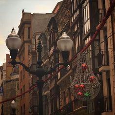 Calle Corrida en Gijon #gijondelalma #gijon #decoracion #navidad #asturias