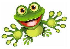 Sticker Frosch Kontur Aufkleber FahnenMax® (habe das gleiche Motiv als Aufnäher, aus simpler Stofftasche mach ruckzuck Froschtasche...!)