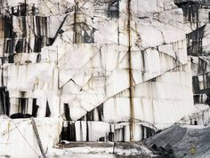 Edward Burtynsky - Rock of Ages #10, Abandoned Granite Quarry, Barre, Vermont, 1991