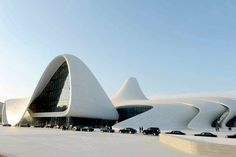 HEYDAR ALIYEV CULTURAL CENTER BY ZAHA HADID