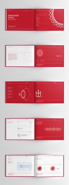 Benício Lawyers Brand book by Adilson Porto Jr., via Behance