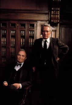 B'day celebrant James Mason with Paul Newman - The Virdict (1982)