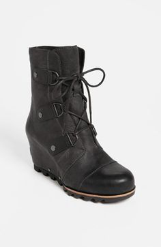 Sorel 'Joan of Arctic' Wedge Boot available at #Nordstrom