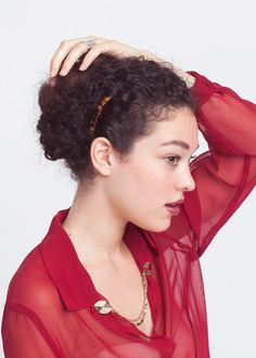 Curly Hairstyles - Yasmin Daguilh Long Curly Hairstyle