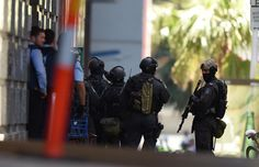 The Dutch radio station suspected hostage hijacking incident police blockade building Sydney, Police, Australia, Pictures, Dutch, Weapons, Arms, Building, Photos