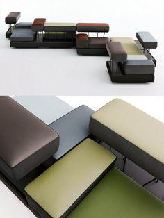 Plot by Brunner at @imm cologne #sofa #imm13