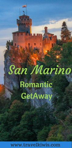 Is it time to venture further than the big cities? Then San Marino is the place to be.