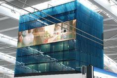 Case Study Focus - Nokia Towers, Heathrow Terminal 5. Structurally Bonded Glazed Panels