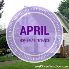 April Home Maintenance Check List