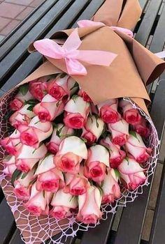 Beautiful Rose Flowers, Beautiful Flower Arrangements, Love Rose, Exotic Flowers, Amazing Flowers, Pink Flowers, Floral Arrangements, Birthday Wishes Flowers, Valentines Flowers