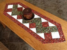 Hey, I found this really awesome Etsy listing at https://www.etsy.com/listing/125533733/table-runner-patchwork-zigzag-hand