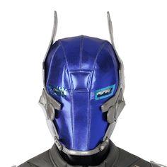 Batman Arkham Knight Cosplay Costume Mask Halloween Mask For Adult Men Cosplay Arkham Knight Helmet Batman Arkham Knight Costume, Batman Cosplay Costume, Male Cosplay, Anime Costumes, Movie Costumes, Cosplay Costumes, Knights Helmet, Headgear, Costume Design