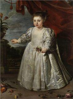 Portrait of the artist's daughter - Cornelis de Vos
