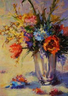 "Saatchi Art Artist Joanne Shellan; Painting, ""Spring Will Come"" #art"