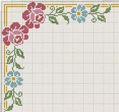 This Pin was discovered by 974 Cross Stitch Boards, Cross Stitch Rose, Cross Stitch Flowers, Counted Cross Stitch Patterns, Cross Stitch Designs, Cross Stitch Embroidery, Paper Embroidery, Russian Crochet, Donia