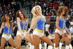 Golden State Warrior Girls #Cheerleader #GoldenState #NBADancers
