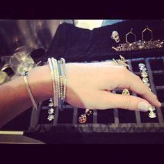 Madstone Diamond stacking bangles